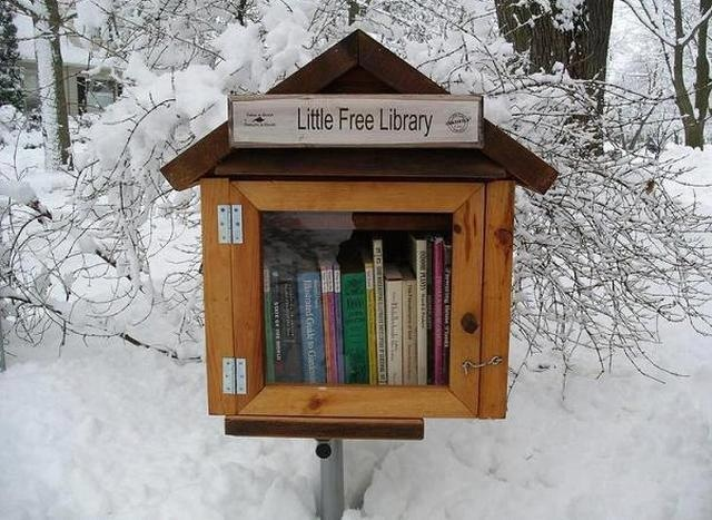 Little Free Library a REMIDA